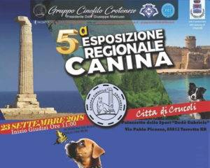 5° Esposizione Regionale Canina