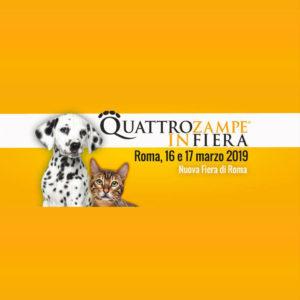 Quattrozampeinfiera – Roma 2019